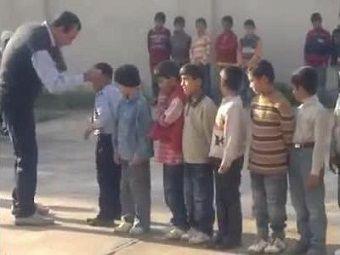 ضرب و شتم دانش آموز قرآنی مینودشتی توسط معلم ورزش