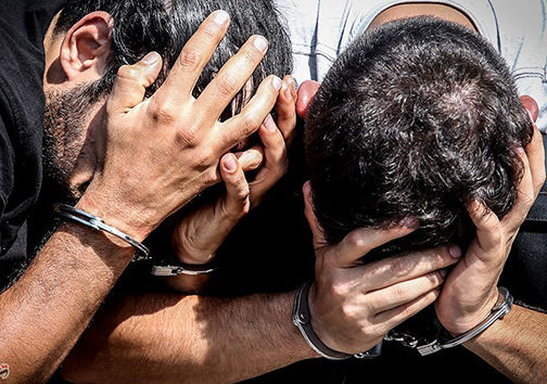 دستگیری سارقان حرفه ای مغازه در گنبد