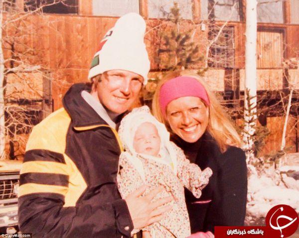عکس های خانوادگی ترامپ لو رفت + تصاویر