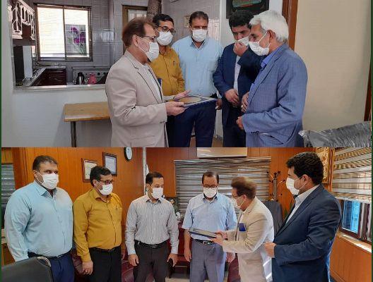 تقدیر مدیر درمان تامین اجتماعی گلستان از خیرین سلامت استان