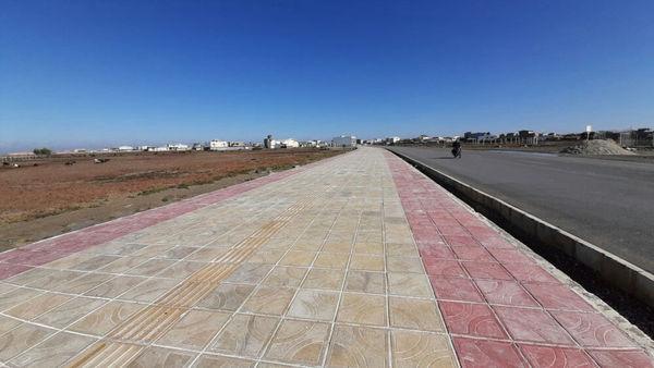 اتمام عملیات اجرایی مرحله اول ساماندهی جاده سلامت بندر ترکمن