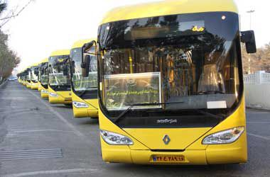 ۲۰ دستگاه اتوبوس جدید و مدرن شهری اتوبوسرانی شهرداری گرگان رونمایی شد