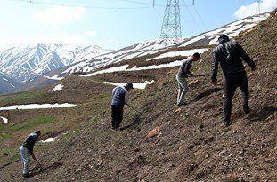 خلع ید 508 هکتار از اراضی منابع طبیعی در گنبدکاووس/ نجات دو روستا از کم آبی