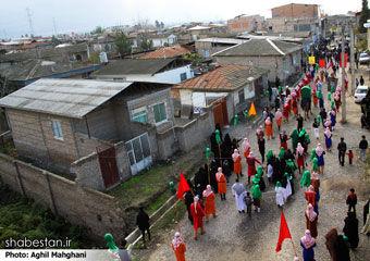 ساعت 14 امروز ، اجرای تعزیه اربعین توسط بزرگترین گروه تعزیه خوانی استان در گرگان