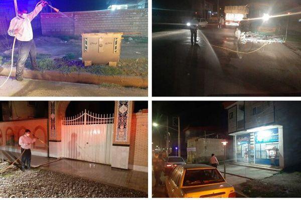اجرای بیش از ۹۰۰ عملیات ضدعفونی و محلول پاشی در روستاهای گلستان