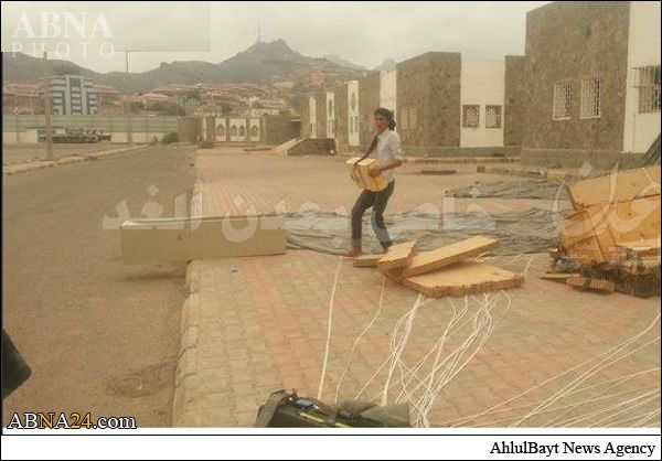 عربستان به اشتباه سلاح برای ارتش یمن و انصارالله ریخت + تصاویر