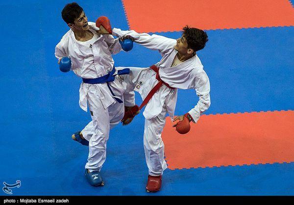 مسابقات کاراته قهرمانی کشور در گلستان آغاز شد