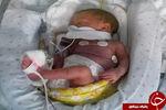 کشف نوزاد زنده در قبرستان زاهدان+ عکس