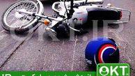 فیلم/ ساندویچ شدن موتورسوار نگونبخت!