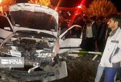 تصادف سه خودرو در گلستان ۱۳ مصدوم داشت