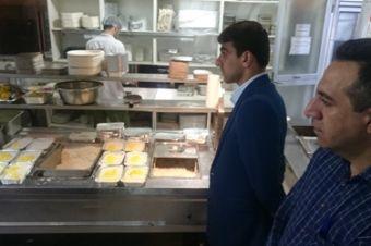 نظارت بر رعایت مسائل بهداشتی در رستوران ها