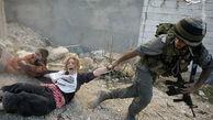 فیلم/ رفتار وحشیانه صهیونیست ها با زنان فلسطینی