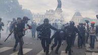 فیلم/ برخورد نایس پلیس فرانسه با معترضان