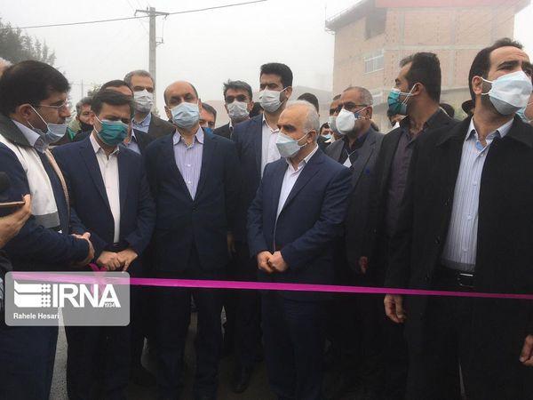 وزیر امور اقتصادی و دارایی طرحهای توسعه روستایی گرگان را افتتاح کرد
