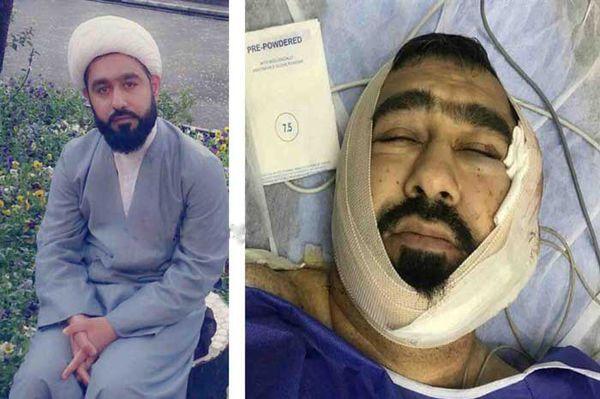 حمله اراذل و اوباش به طلبه کلاله ای+ تصاویر