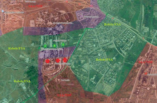 """خیز بلند """"حزبالله"""" و """"ارتش سوریه"""" برای محاصره مجدد """"حلب"""" + نقشه و جزئیات"""