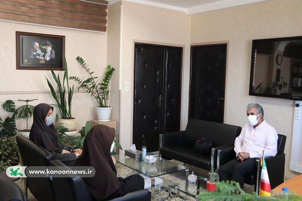 دیدار مدیرکل کانون پرورش فکری با مدیرکل آموزش و پرورش گلستان