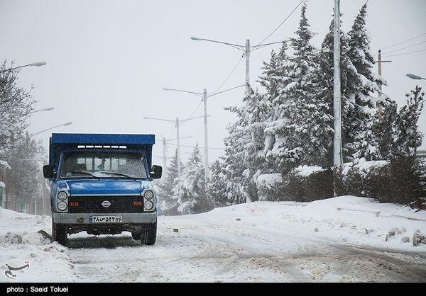 امدادرسانی به ۱۴۱۴ حادثهدیده در برف و کولاک در گلستان