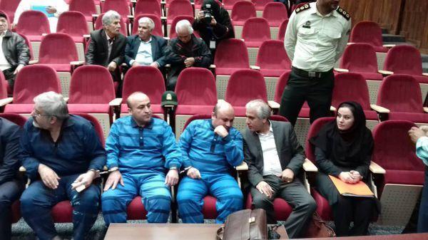 اولین جلسه دادگاه علنی متهمان پرونده پرهام درحال برگزاری است