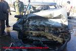 تصادف در جاده قدیم کردکوی-گرگان+تصاویر