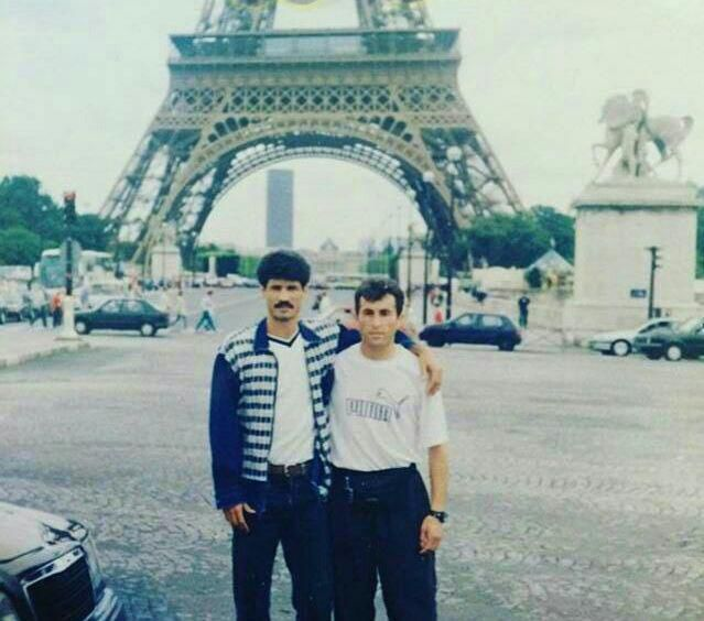 علی دایی در فرانسه