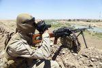 انفجار انتحاری داعشی به دست تک تیرانداز پیمشرگه + دانلودفیلم
