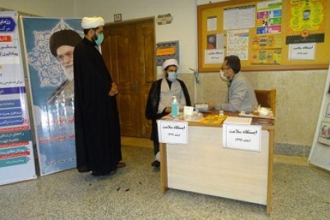 برپایی ایستگاه سنجش سلامت در مرکز خدمات استان گلستان