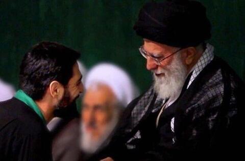 فیلم/ مداحی امروز بنیفاطمه در محضر رهبر انقلاب