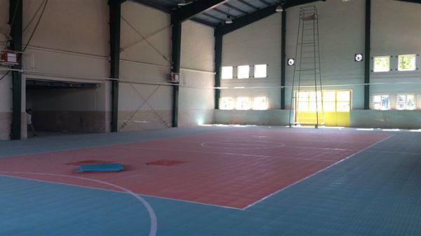 سالن ورزشی بندرترکمن با 2.5 میلیارد ریال بهسازی شد