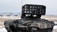 فیلم/ مانور زمستانی ارتش روسیه