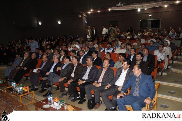 گزارش تصویری/ افتتاح متمرکز پروژه های عمرانی و تولیدی کردکوی