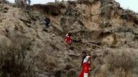 نجات فرد گمشده در یکی از مناطق جنگلی علی آباد