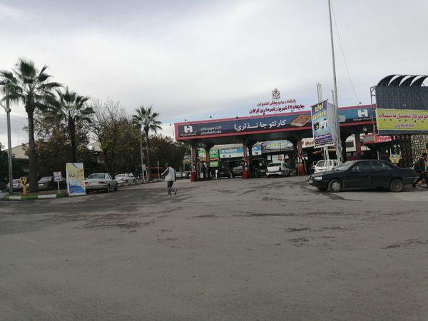 وضعیت عادی در پمپ بنزین های استان گلستان + تصاویر