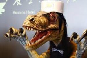 این هتل را ربات ها اداره می کنند!+فیلم