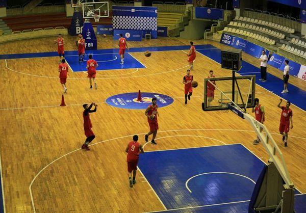 مسابقات بسکتبال قهرمانی جوانان کشور در رامیان آغاز شد