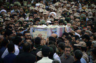 استقبال از پیکر مطهر هجدهمین شهید مدافع حرم گلستان