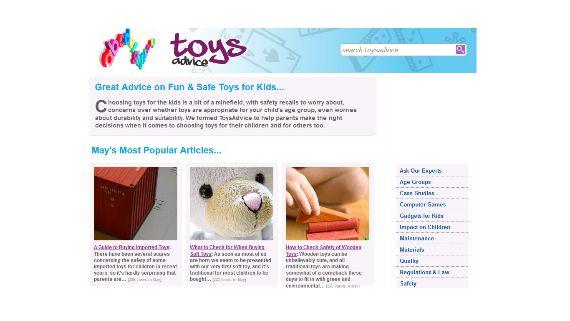 سایت مشاوره اسباب بازی toys advice