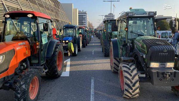 فیلم/ اعتراض خاص کشاورزان