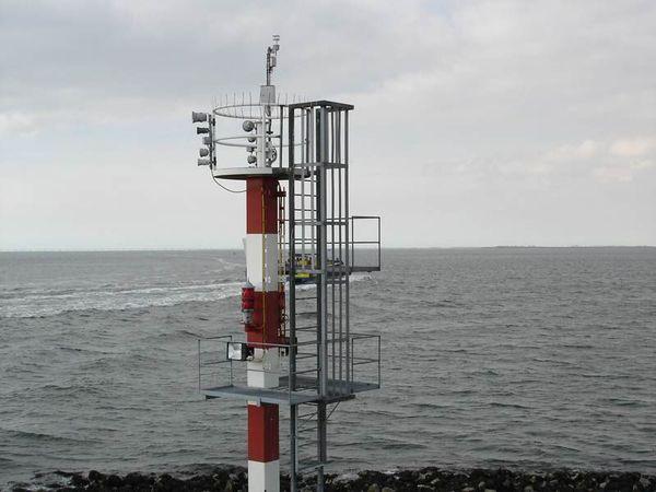 نخستین سکوی هواشناسی دریایی در گلستان راه اندازی شد