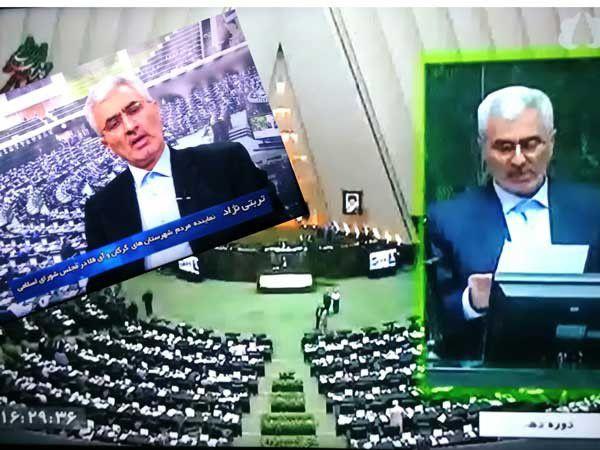 تبلیغ صدا و سیمای گلستان به نفع نماینده لیست امید !