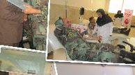 دیدار ارشد آجا در استان گلستان و فرماندهی تیپ 230هجومی نزاجا گرگان بامدیرکل انتقال خون استان