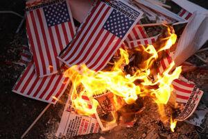 """فیلم/ شعار """"مرگ بر آمریکا"""" در نیویورک"""