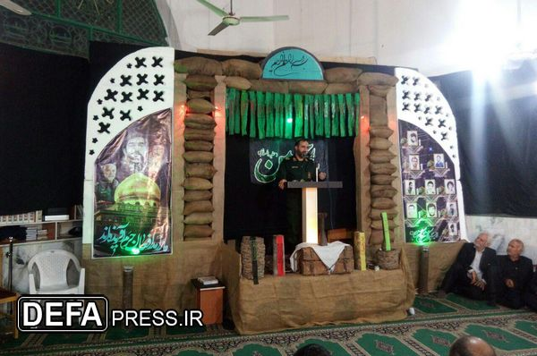 یادواره شهدای روستای سلطان آباد گرگان برگزار شد