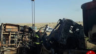 حادثه رانندگی در محور گنبد کاووس اینچه برون