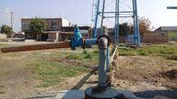 تجهیز و راه اندازی یک حلقه چاه آب شرب در روستای آق آباد