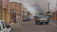 حمله خمپاره ای نیروهای یمن به شهر «نجران» عربستان + تصاویر