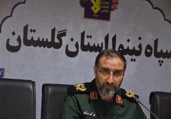 فرمانده سپاه گلستان: انقلاب اسلامی درس مقاومت و ایستادگی به آزادیخواهان داد