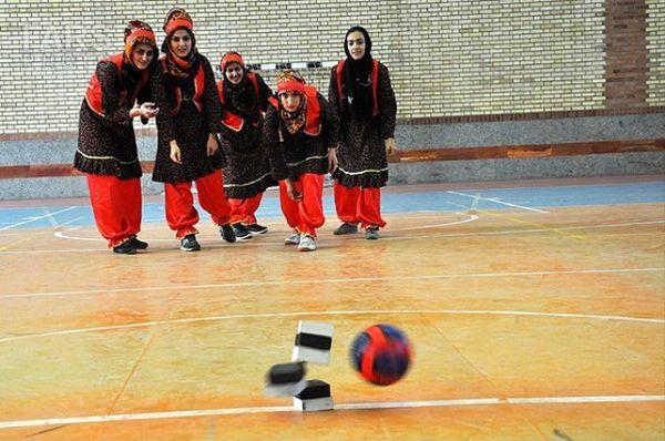 برگزاری تیم ملی هفت سنگ بانوان ایران در مرکز گلستان