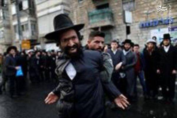 فیلم/ گردهمایی یهودیان بیتوجه به کرونا در نیویورک