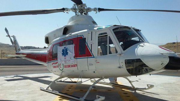 ساخت پد بالگرد امداد و نجات غرب گلستان